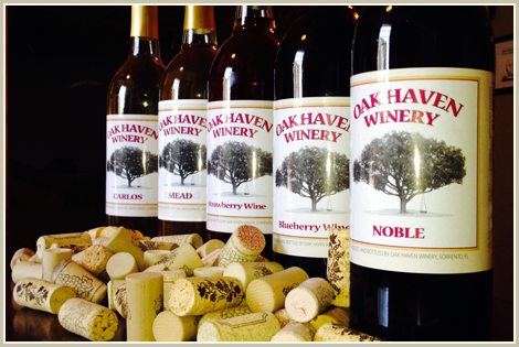 Oak haven farms winery